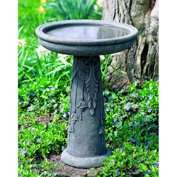 Flores Birdbath by Campania International