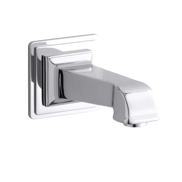 Pinstripe Pure Wall-Mount, 6-7/8 Non-Diverter Bath Spout by Kohler
