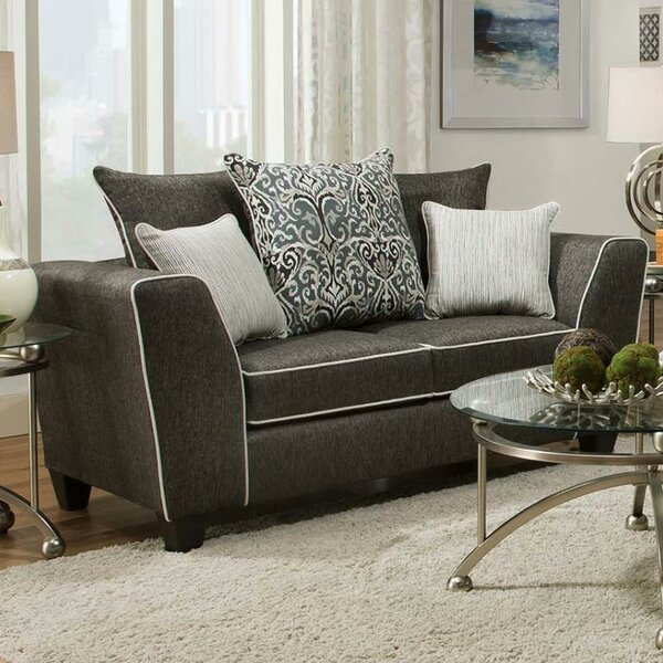 Wide Selection Salyer Loveseat by Winston Porter by Winston Porter