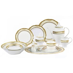 Isabella 24 Piece Dinnerware Set, Service for 4