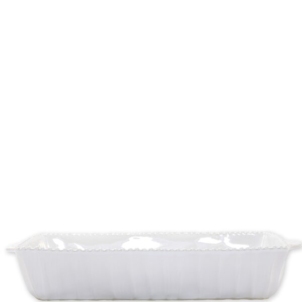 Rectangular Stripe Baking Dish by VIETRI