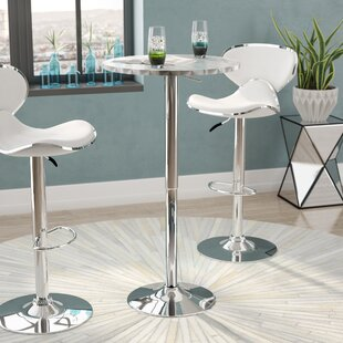 Pub tables bistro sets youll love wayfair adlai adjustable pub table watchthetrailerfo
