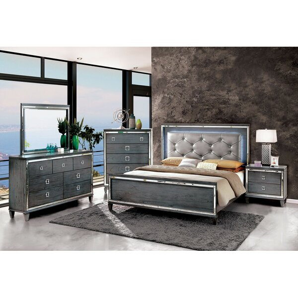 Tidore Cal King Standard Configurable Bedroom Set by Mercer41