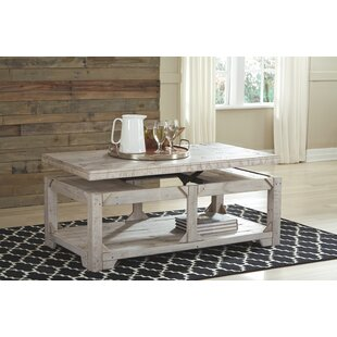 Ezio Lift Top Coffee Table by Highland Dunes