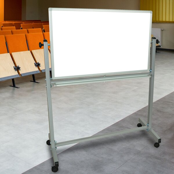 Magnetic Reversible Whiteboard 2 H X 3 W By Luxor.
