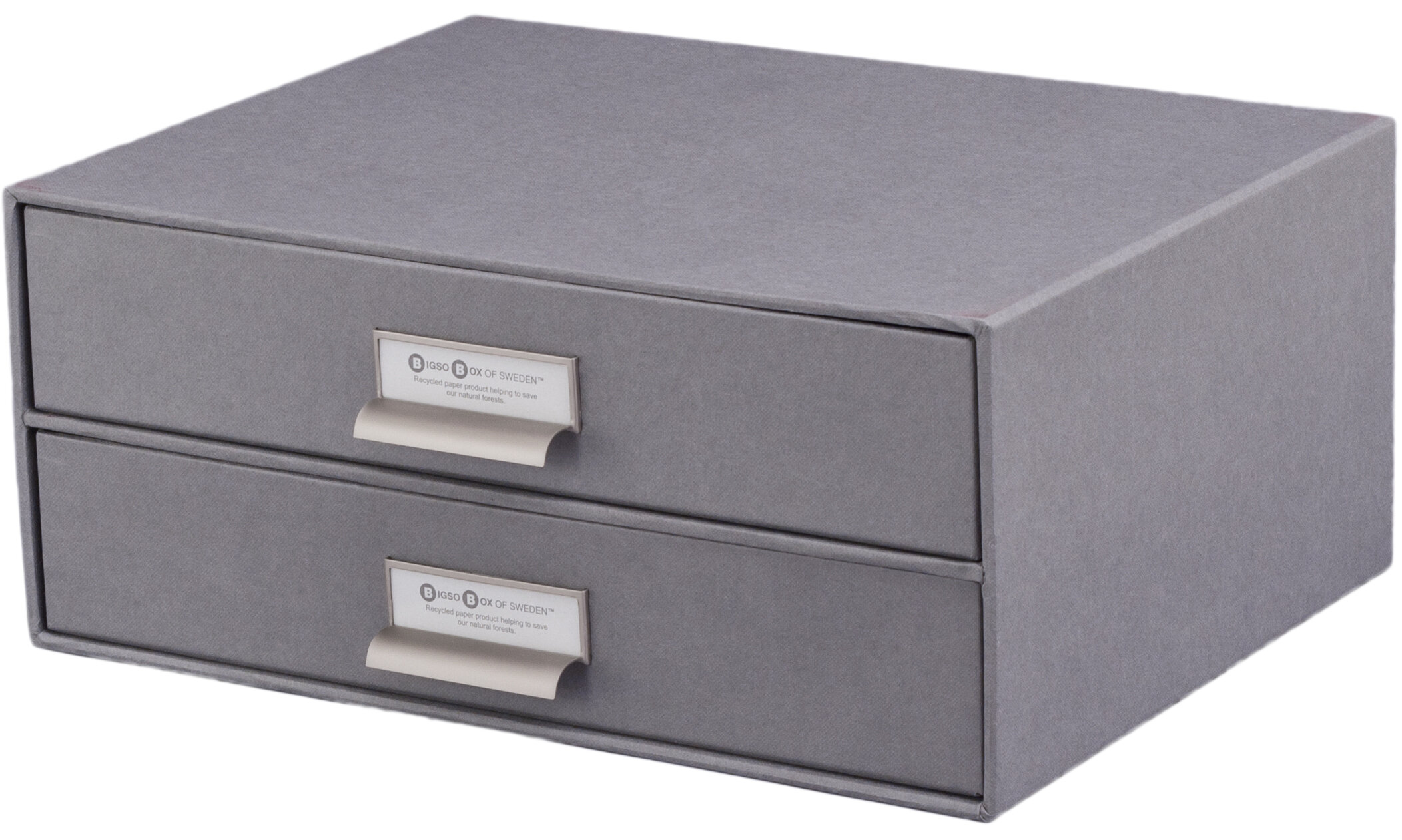 bigso birger 2 drawer paper file box & reviews | wayfair paper file box