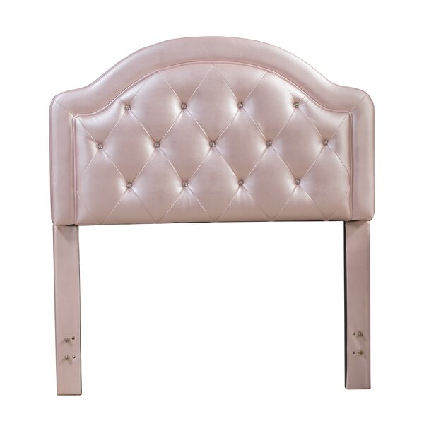 Cindy Wood Frame Upholstered Panel Headboard by Viv + Rae