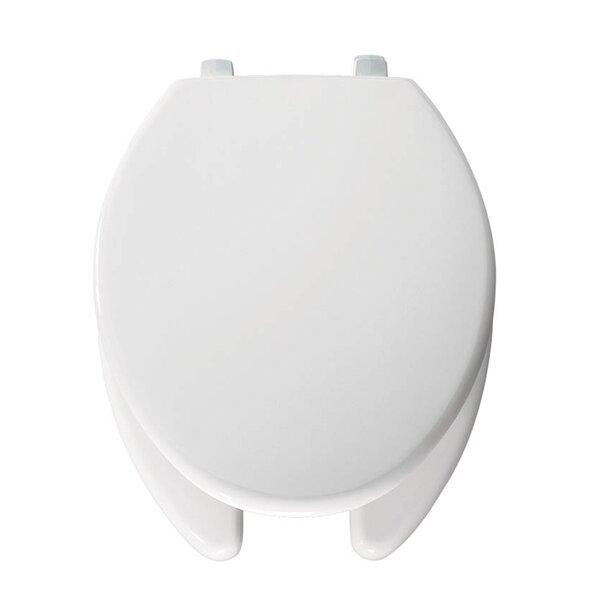 Just Lift Plastic Elongated Toilet Seat by Bemis