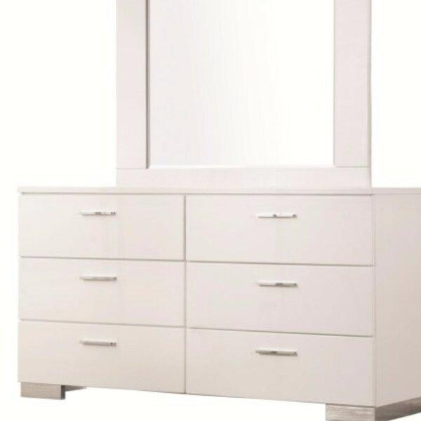 Rogofsky 6 Drawer Double Dresser by Latitude Run