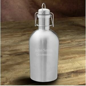 Weise Double Wall Insulated Stainless Steel 64 oz. Growler by Latitude Run