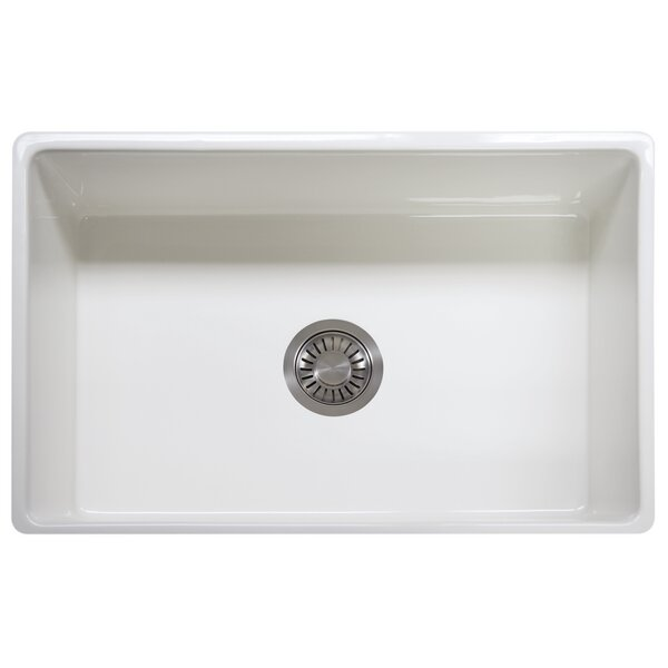 33 L x 20 W Apron Front Kitchen Sink by Franke