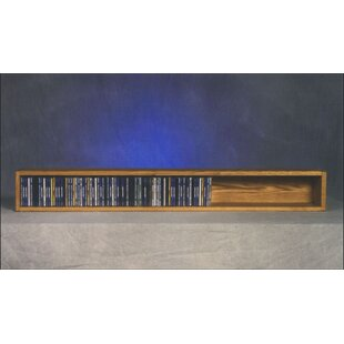 Compare 100 Series 118 CD Multimedia Tabletop Storage Rack ByWood Shed