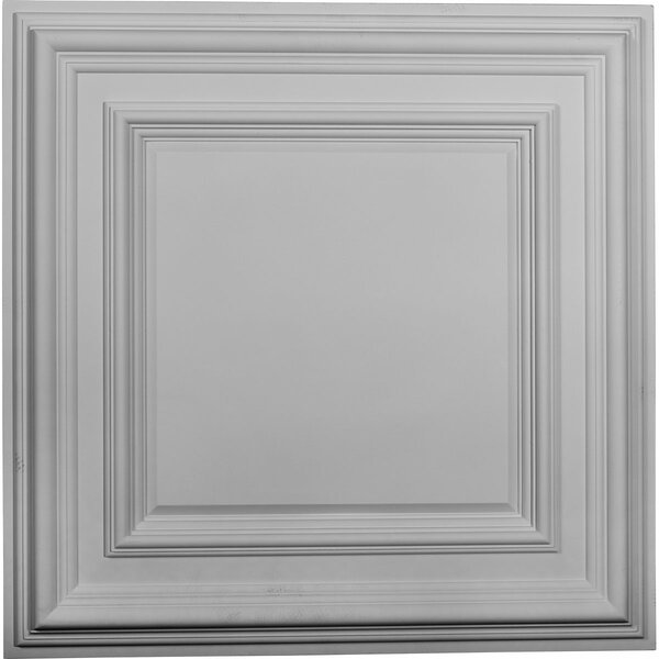 Classic 23 3/4H x 23 3/4W x 1 5/8D Ceiling Tile by Ekena Millwork