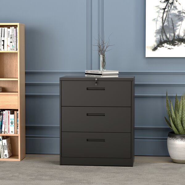 Adelfried 3-Drawer Lateral Filing Cabinet