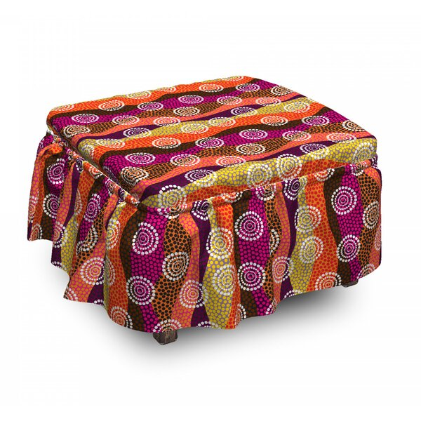 Ottoman Slipcover (Set Of 2) By East Urban Home