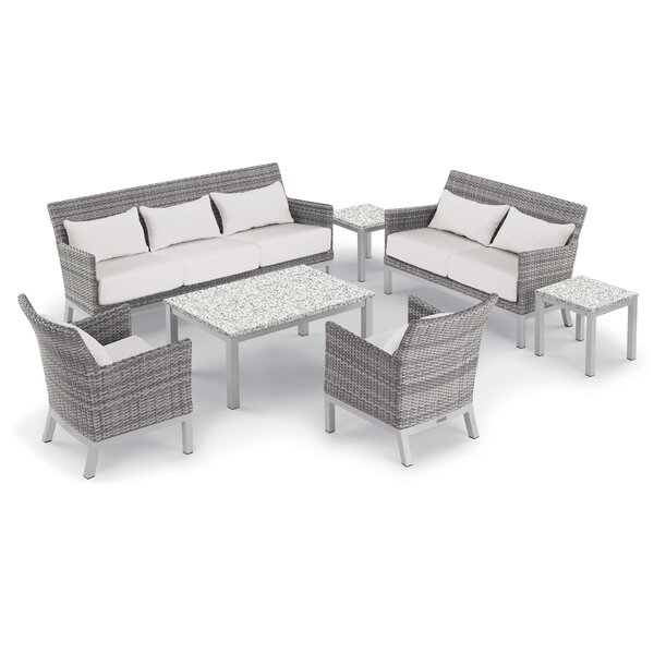 Saint-Pierre 7 Piece Sofa Set with Cushions by Brayden Studio