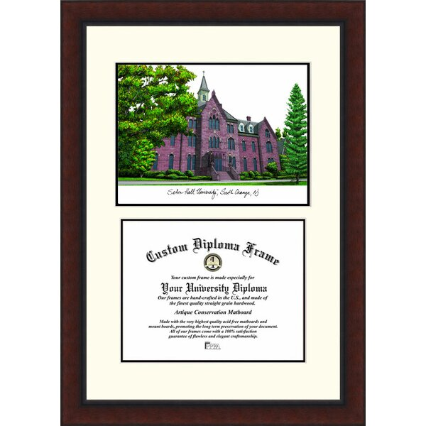 NCAA Seton Hall Legacy Scholar Diploma Picture Frame by Campus Images