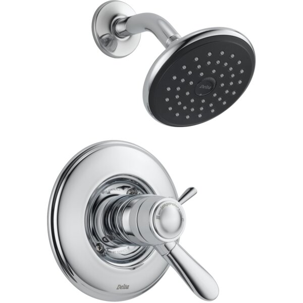 Lahara Shower Faucet Trim with Lever Handles and T