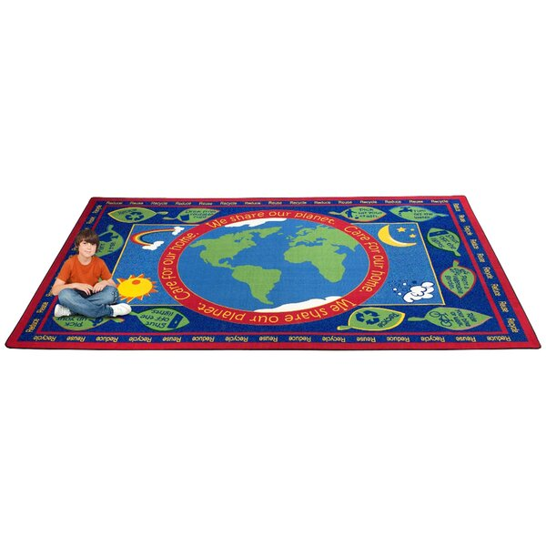 Earth Educational World Area Rug by Kid Carpet