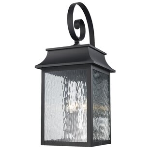 Best Ericsson 3 Light Outdoor Wall Lantern By Alcott Hill
