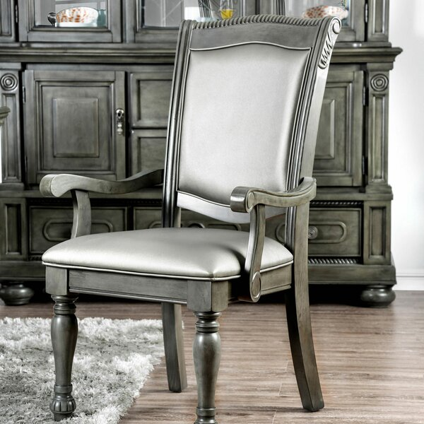Silva Upholstered Arm Chair (Set Of 2) By Astoria Grand