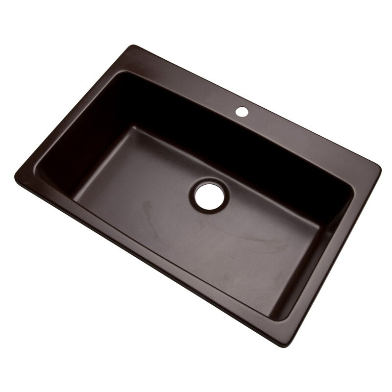 rockland 33   x 22   kitchen sink solidcast rockland 33   x 22   kitchen sink  u0026 reviews   wayfair  rh   wayfair com