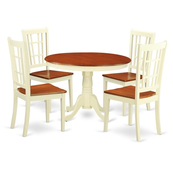 Travis 5 Piece Dining Set By August Grove Sale