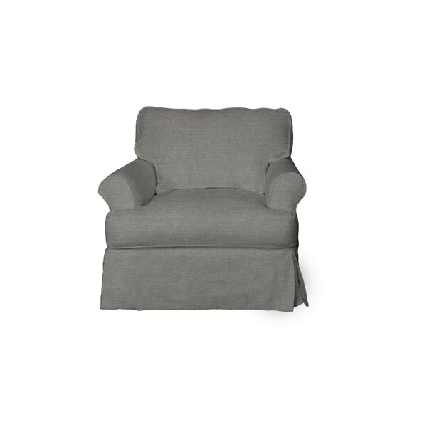 Telluride T-Cushion Armchair Slipcover by Laurel Foundry Modern Farmhouse