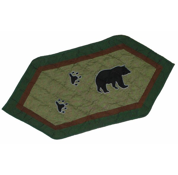 Bear Trail Table Runner by Patch Magic