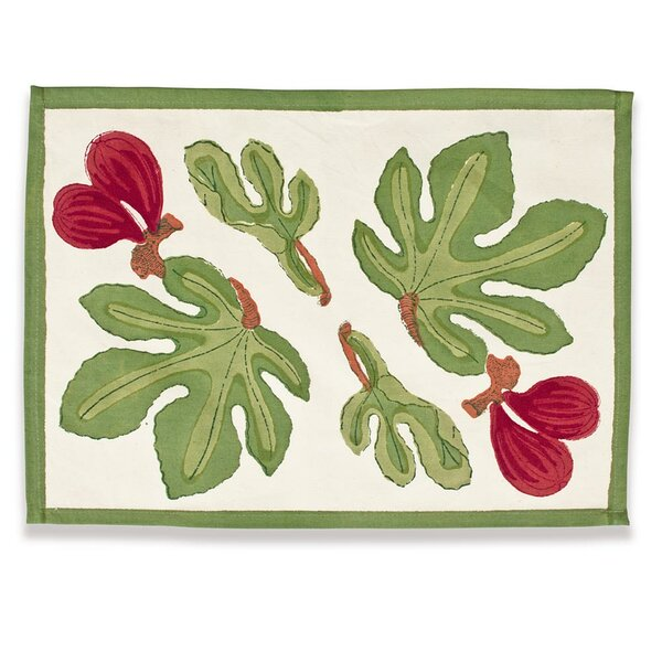 Fig Placemat by Couleur Nature