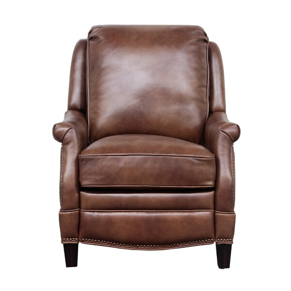 Ashebrooke Leather Manual Recliner by Darby Home Co