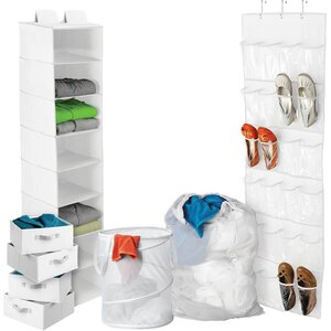8 Piece Back-to-School Hanging Organizer