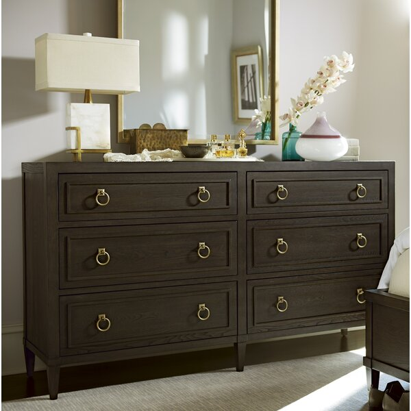 Garton 6 Drawer Double Dresser by Everly Quinn