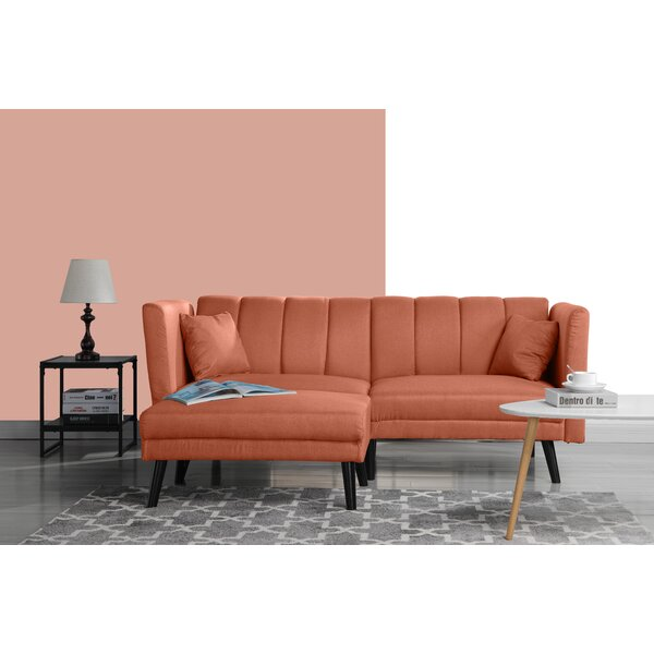 Mid Century Convertible Sofa by Madison Home USA Madison Home USA
