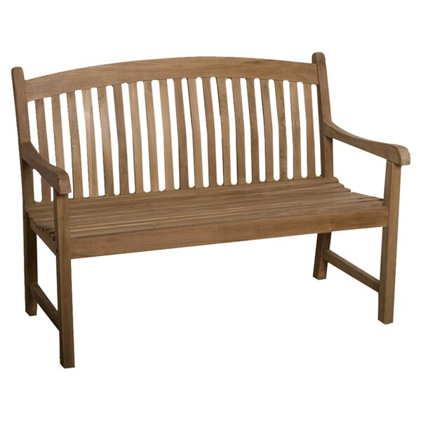 Elsmere Teak Garden Bench by Beachcrest Home
