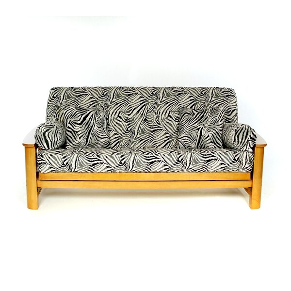 Safari Box Cushion Futon Slipcover by Lifestyle Covers