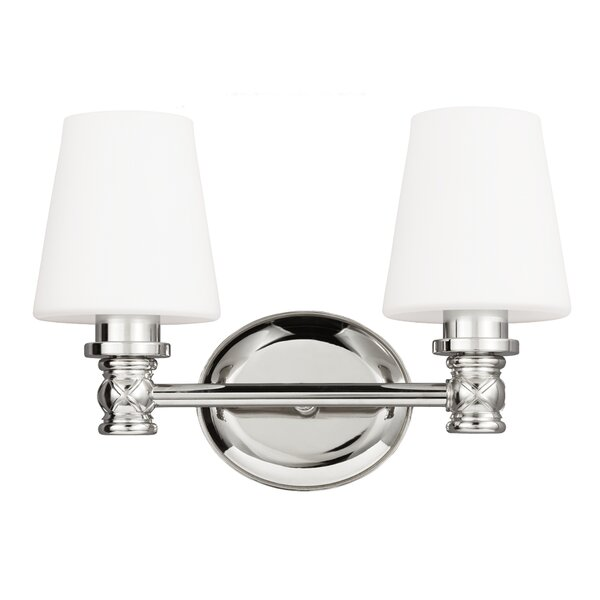 Healey 2-Light Vanity Light by Darby Home Co