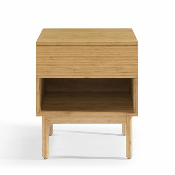 West Newbury 1 Drawer Nightstand by George Oliver