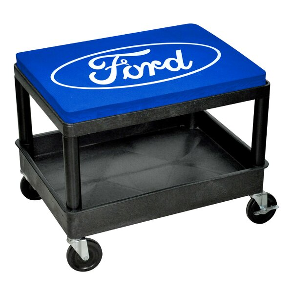 Ford Mechanic Seat with Cushion by Go Boxes LLC