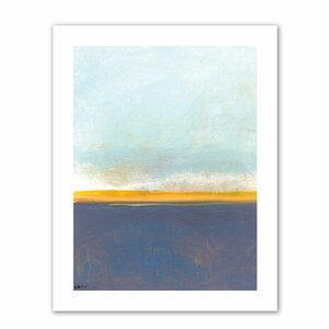 'Big Sky Country' Graphic Art on Rolled Canvas by Mercury Row