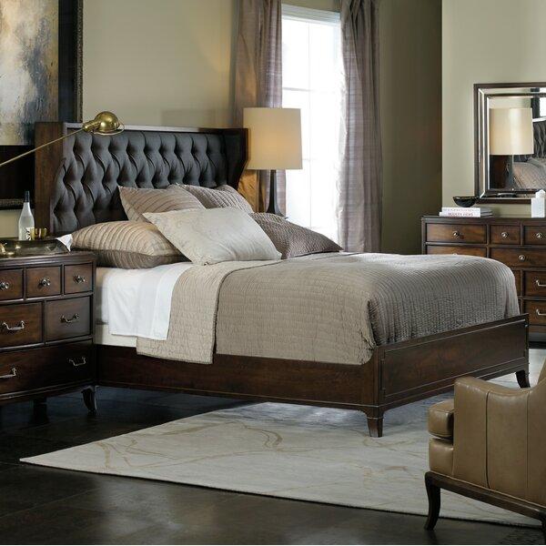 Palisade Upholstered Panel Bed by Hooker Furniture