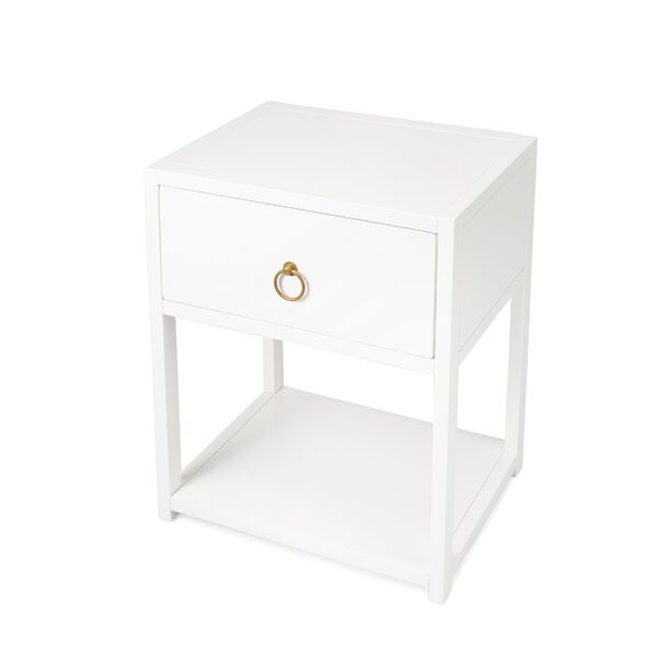 Celestine End Table With Storage By Ivy Bronx