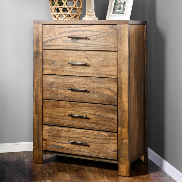 Spencyr 5 Drawer Standard Dresser/Chest by Gracie Oaks
