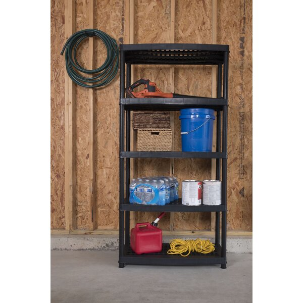 Utility 72 H Five Shelf Shelving Rack Unit by Keter