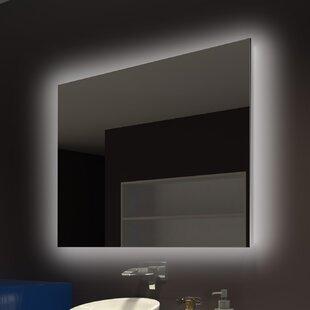 Vanity mirrors with lights youll love wayfair moumoune backlit bathroomvanity mirror aloadofball Image collections