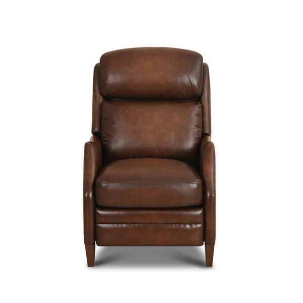 Haddon Leather Power Recliner By Red Barrel Studio