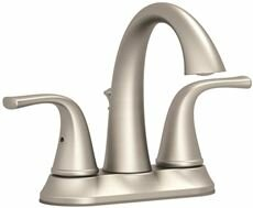 Deck Mounted Centerset Lever Bathroom Faucet with Drain Assembly ByPremier Faucet