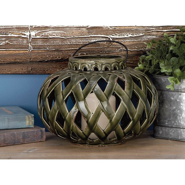 Ceramic Lantern Set (Set of 3) by Cole & Grey