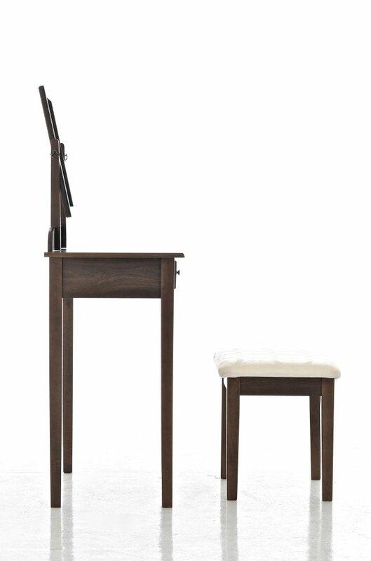 home haus schminktisch set hessle mit spiegel bewertungen. Black Bedroom Furniture Sets. Home Design Ideas