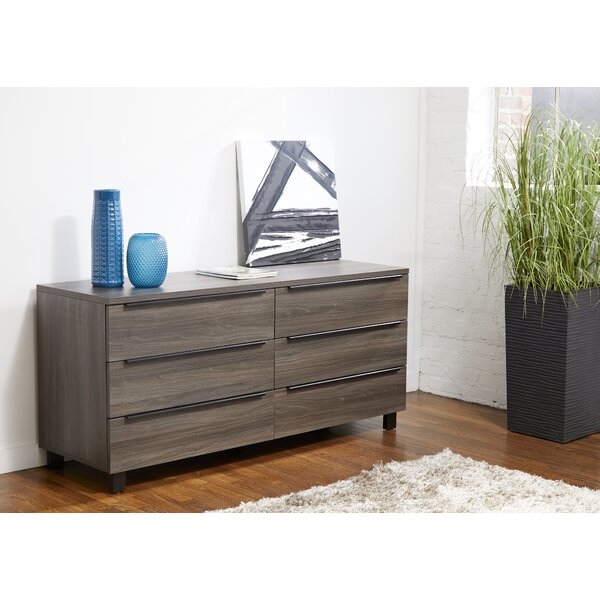 Rigoberto 6 Drawer Double Dresser by Union Rustic